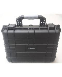 Utility ABS waterproof protective storage hard case with purge valve 37x26x15cm