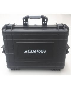 Utility ABS waterproof protective storage hard case with purge valve 50x35x19cm