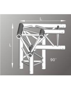 Alutruss ALU33105LB aluminium three-way tri-truss Left Corner / 290MM