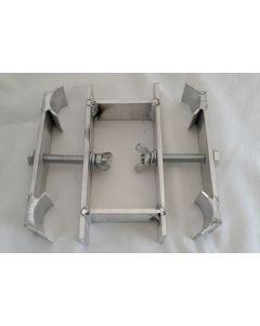 4-way leg clamp