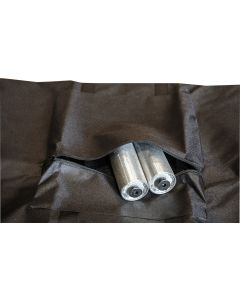 Carry bag that fits 2x 500x500mm base plates with zipped pocket