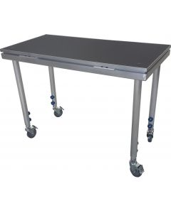 DJ TABLE / Portable stage panel 60cmx 120cm size on castor wheels