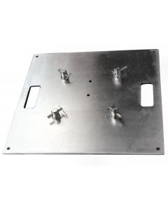 BASE-600 x 600 Steel base plate / top plate for 290 box or 290 tri-truss