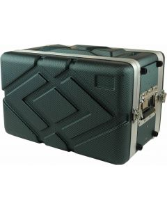 """ABS 6RU 19""""  shallow / effects case - carbon fibre look /finish"""