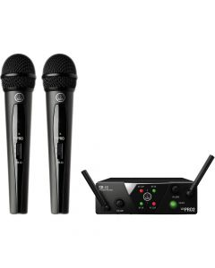 AKG WMS-S40D DUAL VOCAL HANDHELD MICROPHONE