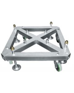Truss Tower base with wheels for box truss stand