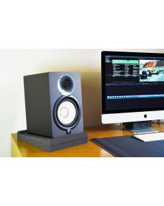 Studio Monitor Isolation Pads PAIR - High-Density Acoustic Foam