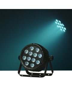 Event Lighting PARP12X8 LED Flat ProPar Quad 12x8W RGBW - Fan cooled