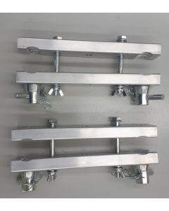 290mm box truss mounting brackets - PAIR