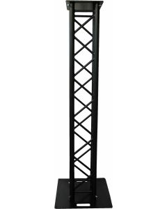 Upright stand moving head package, 290mm 2m BOX truss BLACK