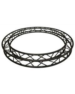 BLACK Circular truss - 4m in diameter 290mm aluminium BOX-truss