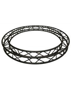BLACK Circular truss - 3m in diameter 290mm aluminium BOX-truss