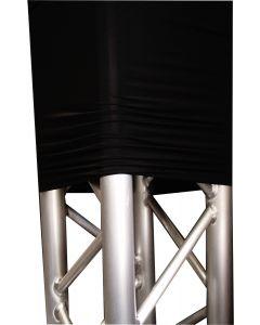 Truss cover / sock / sleeve - BLACK - sold per meter