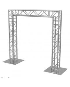 Truss stand 3.5m high x 7m wide - two way 290mm box truss