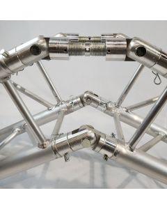 CAJ201MF angle adjustable couplers x 2 and MF500 hinged couplers x 2