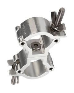 Clamp - Small double swivel coupler fits 32-35mm tubing / pipe TUV Load rated 50kg