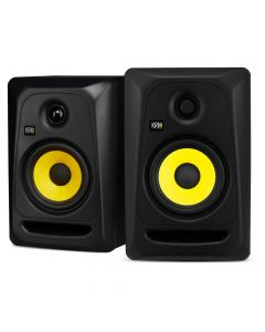 KRK CLASSIC 5 Professional Studio Monitors X 2 (Pair) + Isolating Pads