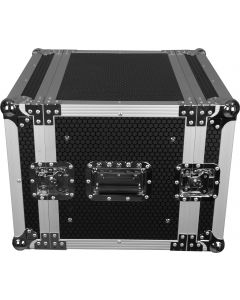 "Case To Go 10RU Effects 19"" rack mount case with castors"