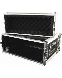 "CaseToGo 19"" 4RU effects flight case"
