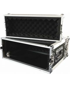 "CaseToGo 19"" 4RU amplifier flight case"