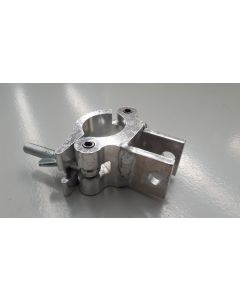 CUP14 50mm aluminium clamp with custom welded tabs