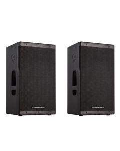 "CVXL-112 12"" 2-WAY - 1500 WATT x 1 PAIR-POWERED FULL RANGE LOUDSPEAKERS"
