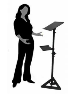 Portable Menu Holder Guestbook School Speaking Stand Podium Lectern