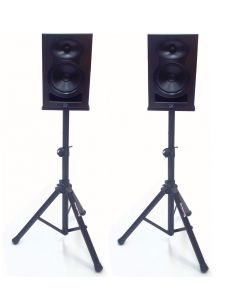 2x Soundking DB101 tripod studio monitor bookshelf speaker stands
