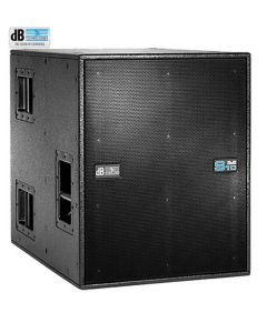 """dB Technologies DVA S2585N 15"""" and 18"""" Cardiod subwoofer 2500W RMS"""