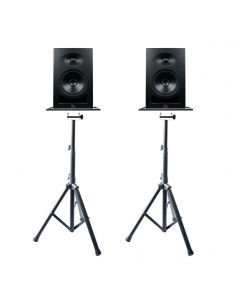 Kali Audio LP6 6″ Studio Monitor Pair with Tripod Monitor Stands