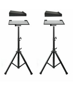 SOUNDKING TRIPOD MONITOR STANDS, TILTABLE AND HEIGHT ADJUSTABLE (PAIR)
