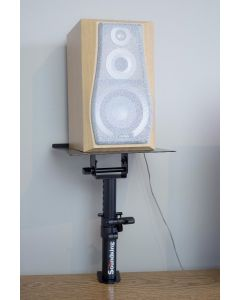 TABLE TOP MONITOR STAND WITH TABLE CLAMP