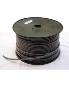 DMX cable - 100m roll, 2 core + earth - BLACK