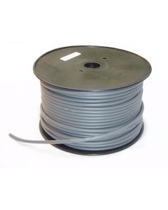 DMX cable - 100m roll, 2 core + earth - grey