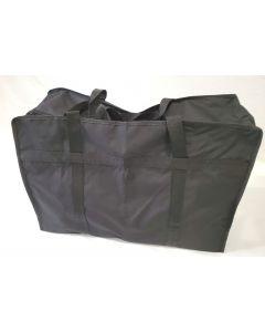 Large Canvas Drape Bag with a zip 70x50x22cm