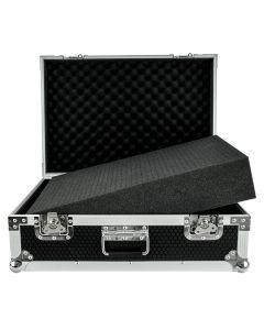 Utility / microphone  / camera / equipment case flightcase 65x45x27 cm with foam