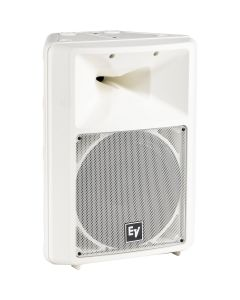 "EV Sx100w WHITE 12"" two-way, high-efficiency passive speaker"