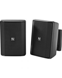 "Electro-Voice EV 4"" Cabinet 8O Pair EVID-S4.2B installation speaker BLACK"