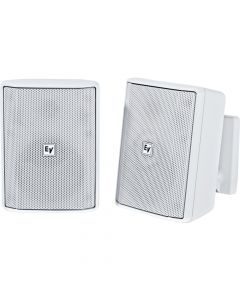 "Electro-Voice EV 4"" Cabinet 8O Pair EVID-S4.2W installation speaker WHITE"