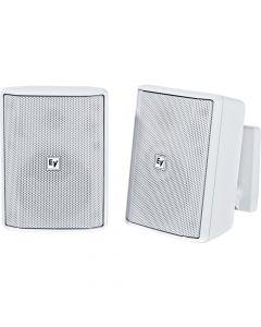 "Electro-Voice EV 4"" Cabinet 8O Pair EVID-S4.2T (70/100V) installation speaker WHITE"