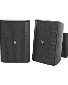 "Electro-Voice EV EVID-S5.2T 5"" Cabinet 8O Installation speakers BLACK - Pair"