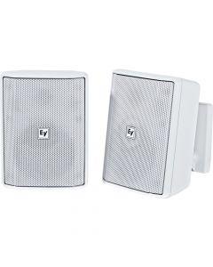 "Electro-Voice EV EVID-S5.2W 5"" Cabinet 8O Installation speakers WHITE- Pair"