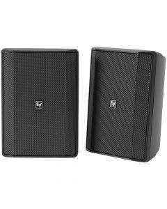 "Electro-Voice EVID-S5.2 5"" installation speaker 70/100V IP65, Black EVID-S5.2XB - PAIR"