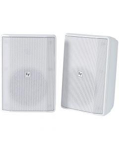 "Electro-Voice EVID-S5.2 5"" installation speaker 70/100V IP65, WHITE EVID-S5.2XW - PAIR"
