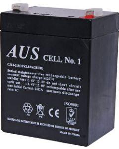 12V 2.9AH SEALED LEAD ACID (SLA) BATTERY - SUIT FOCUS 505