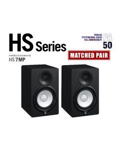"YAMAHA HS7-MP Limited Edition Matched Pair 6.5"" ACTIVE STUDIO MONITORS"