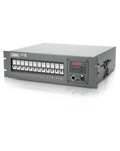Jands FPX-A Dimmer Rack DMX512 with Breakers 12x2.4kW Aust 10A Outlets 2m 3phase Cable and Plug 3RU