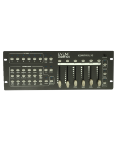 Event Lighting KONTROL36 - 6 x RGBWAU fixture DMX controller