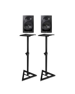 "KALI AUDIO LP-6 6.5"" 2-WAY ACTIVE STUDIO MONITOR PAIR PLUS BONUS STANDS"