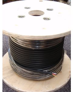 Speaker cable 4 core 4x1.5mm 15 AWG 100m roll